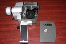 "Cinepresa Cinaland RZ33 con movimento ""a corda"" e zoom manuale"