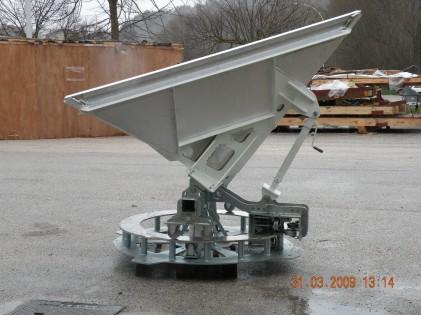 Corner Reflector di grandi dimensioni per taratura Radar