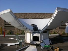 Antenna Dish Mounting
