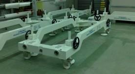 GlobalStar2 Satellite Integration trolley